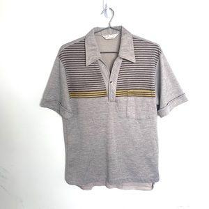 🔥 VTG Don Giovanni Disco 60's 70's shirt med poly